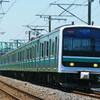 7月22日撮影 常磐線 水戸~勝田間 常磐線の列車たち ②