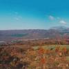大山と四国の紅葉