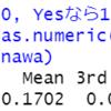 都道府県別の空き家・持ち家・借家数のデータ分析7 - R言語でロジスティクス回帰分析。glm関数