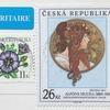 美しいミュシャの切手