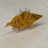 折り紙 ステゴサウルス