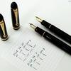 筆記線と書き味を左右する  「万年筆の筆圧の影響」