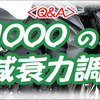 <Q&A>  Z1000、 サスペンションの減衰力調整は、何クリック目? / About recommended damper setting