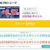 【速報】SBI FXトレード15,750ポイント!