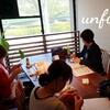 レッスンレポート)4/20本川町教室 楽しく編み物しています