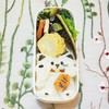 お弁当作りの記録(3日分)~招き猫弁当とお花弁当と牛弁当3回目/My Homemade Boxed Lunch/ข้าวกล่องเบนโตะที่ทำเอง
