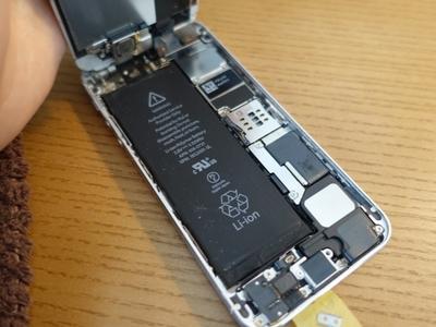【詳解説】自分でiPhone5sバッテリーを交換する!!