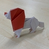 折り紙 キャバリア犬
