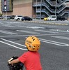 長男と自転車🚴