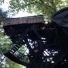 ル シクロップ 森の中の巨大スクラップアート