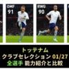 【FP比較とランキング】トッテナムクラブセレクション
