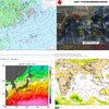 【台風情報】日本の南に熱帯低気圧(98C)・南西にはまとまった雲のかたまり(91W)が!今後この台風のたまごが台風27号になって日本へ接近する!?気象庁・米軍・ヨーロッパの予想は?