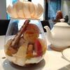 【溜池山王】ショコラティエの美しき「花ひらく桃パフェ」『パスカル・ル・ガック東京』