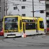 鹿児島市電1000形 1013号車(南海堂げたんはラッピング車両)