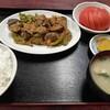 西川口の「あおき食堂」でなすひき肉定食を食べました★