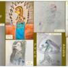 米国大使館コミュニティの子どもたちが描いた妖怪「アマビエ」 !