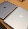 1年未満で、MacBook Proが膨らみました。