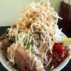 【食事】 めんじろ@水戸 二郎インスパイア系でデカ盛り麺