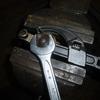 CB50JX 2号機 45320-149-000ブレーキアームCOMPを分解