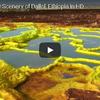 地球とは思えない黄色い大地 エチオピア ダロル火山