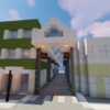 シャッター通りと化した商店街を作る【Minecraft】