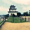 一日一撮 vol.284 丸亀城:天守閣と讃岐富士