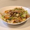 みそ野菜炒め&豚の角煮