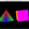 PyOpenGL-Demoのコードを手直ししてPython3で実行してみた