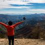 【黄緑光線】鷹ノ巣山がなかなか素晴らしくて感動した