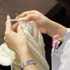抗がん剤治療の副作用で脱毛された患者さまへ 病院職員製作のニットキャップをプレゼント!