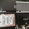 Samsung SSD 500GB 860EVOでPC高速化→クリーンインストールが最強でした。