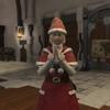 『サンタ服のアリアちゃん』