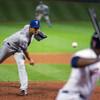 Darvish loses perfect game