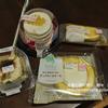 ローソンの「5枚重ねのパンケーキ(リコッタ入りクリーム)」ピュアロールケーキ、ピュアティラミス、プレミアムぎゅっとクリームチーズ・感想