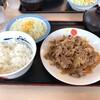 食べ歩き(松屋)