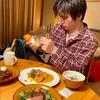 2020.11.8 昌磨君、ピエトロの和風ドレッシングだったら野菜食べられるって言ってたね。