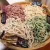 麺に野菜を練り込んだ、究極のサラダうどんを作ってみた