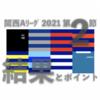 関西Aリーグ 2021 第2節 / 結果とポイント … 天理 摂南 が今季初勝利 近大が2連勝