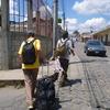 2010年 男三人バックパッカーの旅 ティカル観光拠点の町フローレスへ
