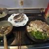 幸運な病のレシピ( 2101 )夜:ソイのカブト煮、塩焼き、すき焼き風豚丼