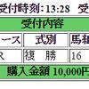 4月23日(日曜)の購入馬券 その4