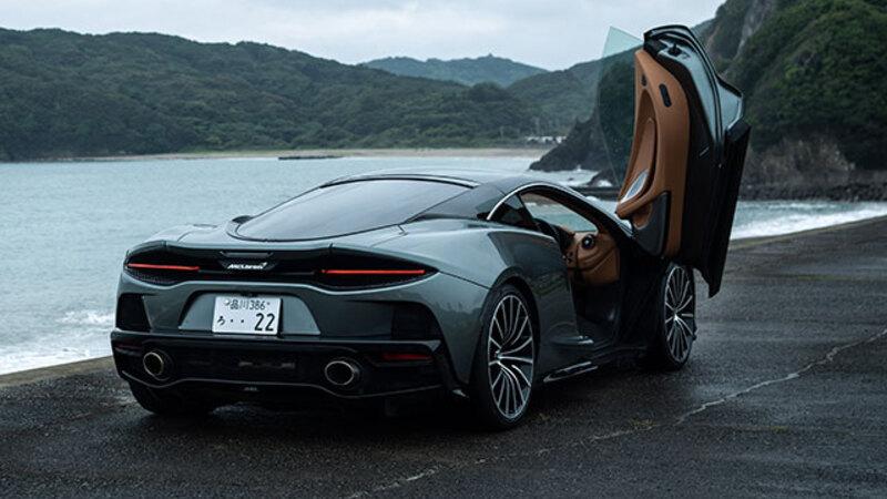 キャディバッグを積めるスーパーカー、マクラーレン GT