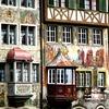 【スイス】バロックな修道院図書館と、田舎っぽいメルヘンを求めてスイス辺境の街へ。(2日と半日)