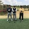 今日は今期初のゴルフでした。