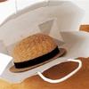 麦わら帽子を片付ける…