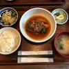 ごはん×カフェ madeiで和風ハンバーグと大根(浅草)