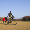浜名湖で自転車キャンプ!冬の焚き火とすき焼きを堪能。/渚園
