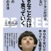【書評】サラリーマンの仕事が変わる!立花岳志さんの「好きなことだけして食っていく」を要約!