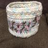 【ハンドメイド】かぎ編みで小物入れ