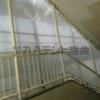 防風テント!階段にも